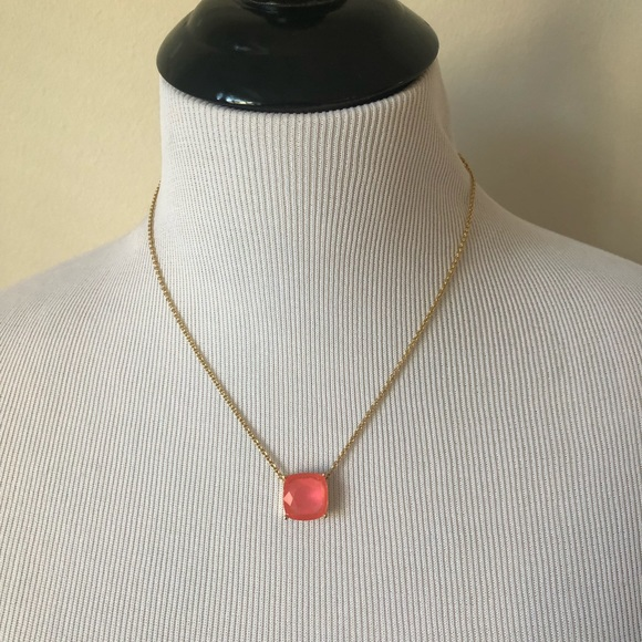 kate spade Jewelry - Kate Spade Coral Stone Necklace
